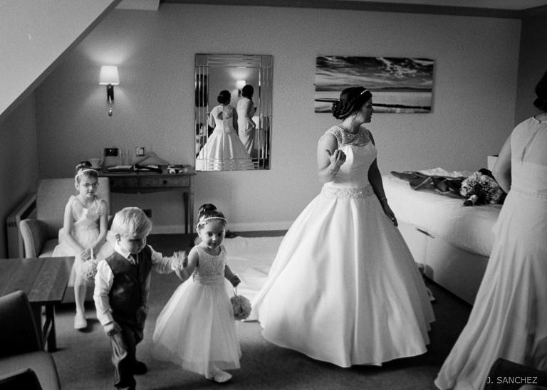 Leeds wedding film, black and white photography