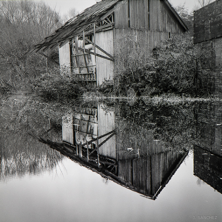 Old building Leeds Canal film Photography