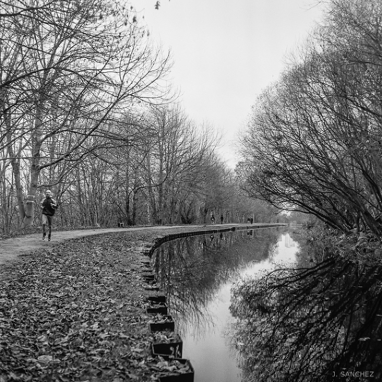 Walk by the Leeds Canal film photography