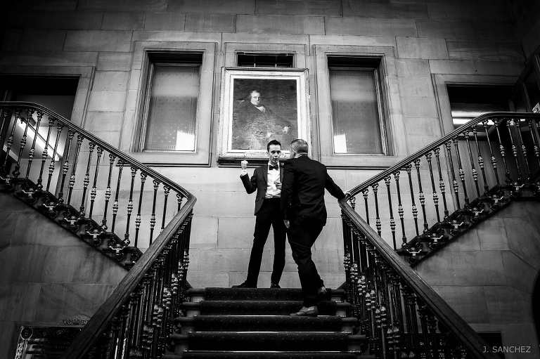 Todmorden Town Hall for wedding photography